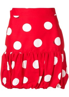 MSGM polka dot mini skirt