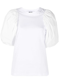 MSGM pouf sleeve T-shirt
