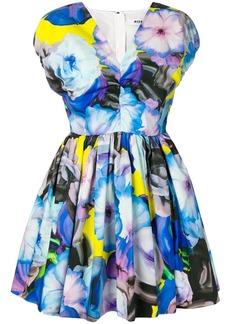 MSGM printed A-line dress
