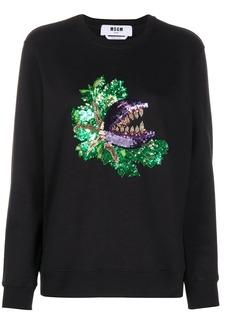 MSGM sequin-embellished sweatshirt