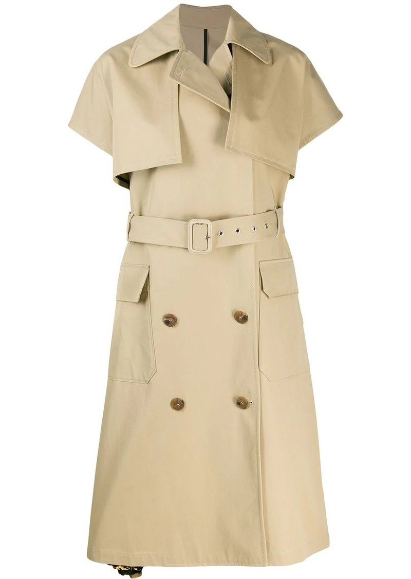 MSGM short sleeve trench coat