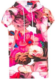 MSGM short sleeved hoodie