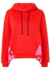 MSGM side panel hoodie