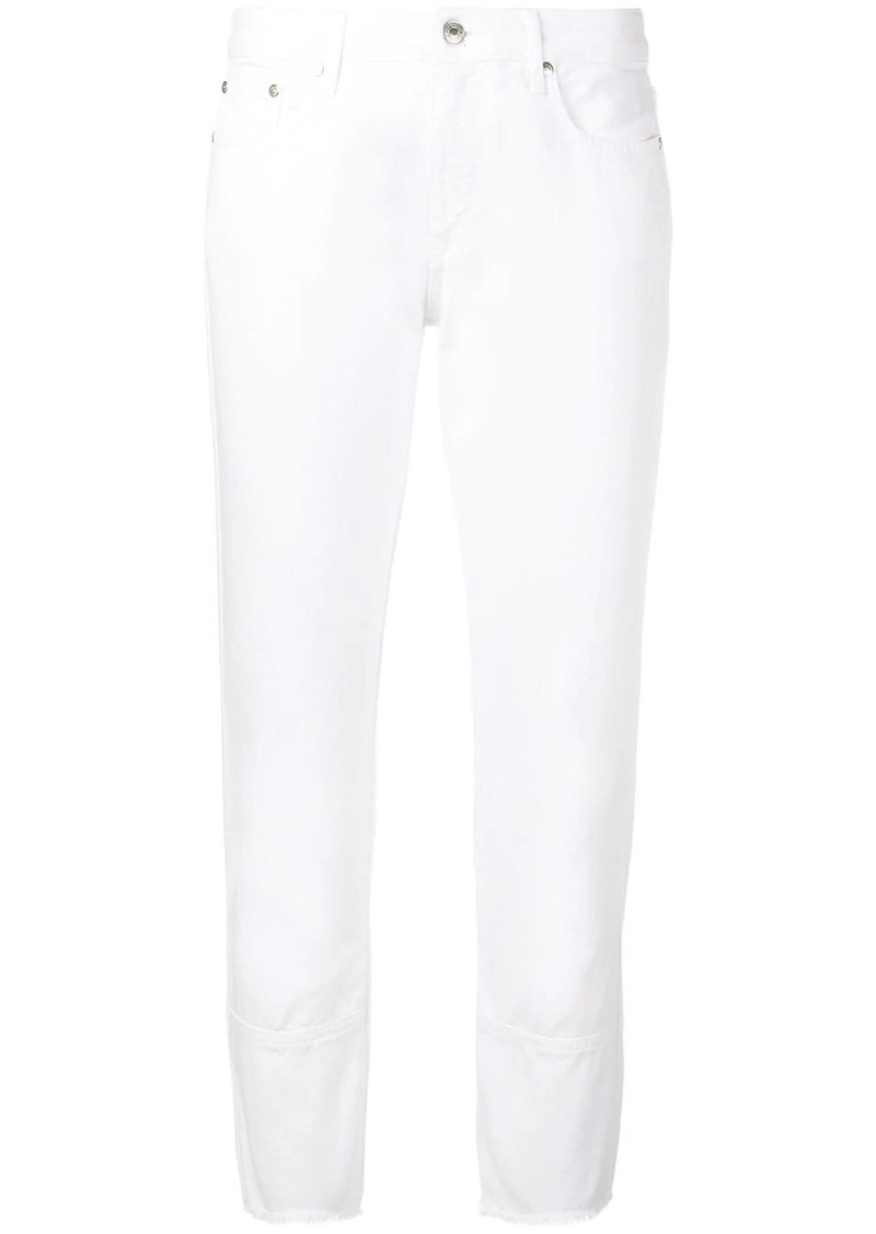 MSGM slim fit cropped jeans