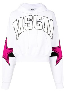 MSGM stars hoodie