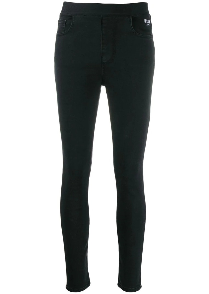 MSGM stretch slim-fit jeans