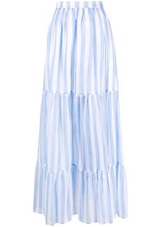 MSGM striped maxi skirt