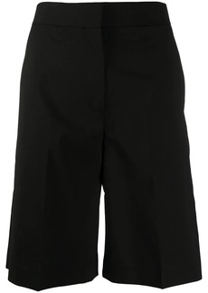 MSGM tailored side-stripe shorts