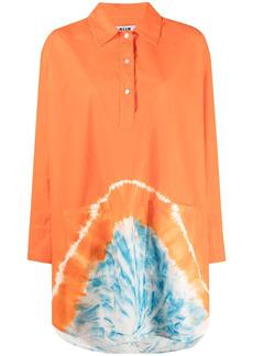 MSGM tie-dye mini shirtdress