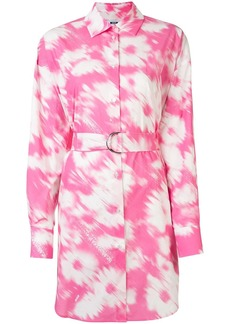 MSGM tie-dye shirt dress