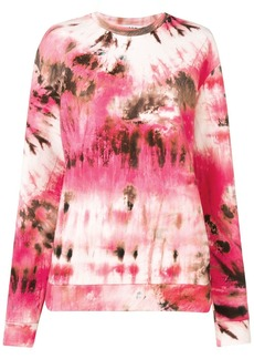 MSGM tie-dye sweatshirt