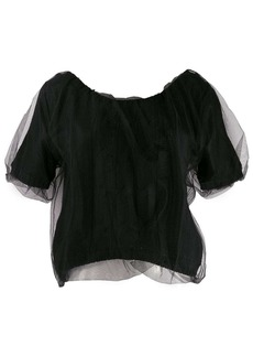 MSGM tulle top