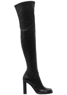 Mulberry 100mm Stretch Leather Over The Knee Boot