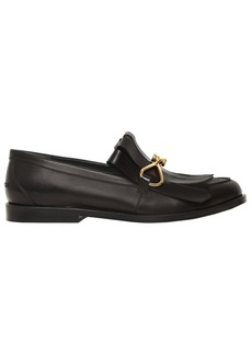 Mulberry 20mm Fringed Leather Loafers