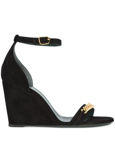Mulberry chainlink wedge sandals