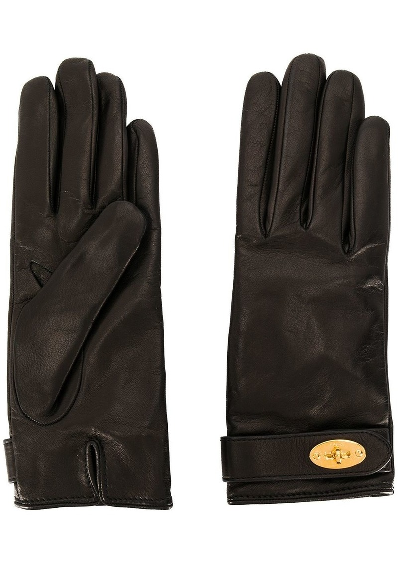 Mulberry Darley plain gloves