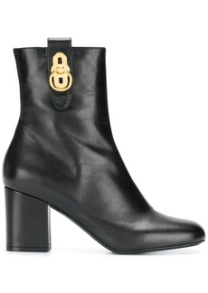 Mulberry hardware ankle boots