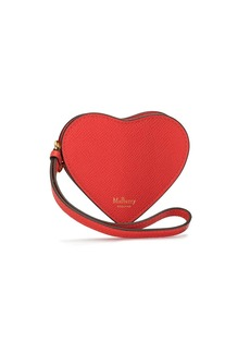 Mulberry heart-shaped wallet