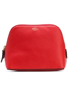 Mulberry leather make-up bag