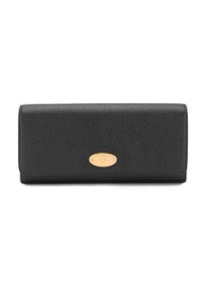 Mulberry logo embossed wallet