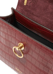 8ea53a48bab8 ... Mulberry Micro Seaton croc-effect leather tote