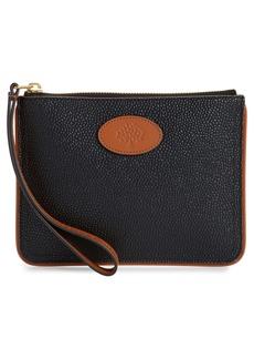 Mulberry & Acne Studios Medium Zip Leather Pouch