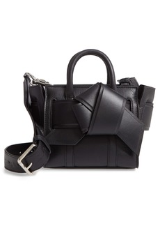 Mulberry & Acne Studios Micro Musubi Bayswater Leather Satchel