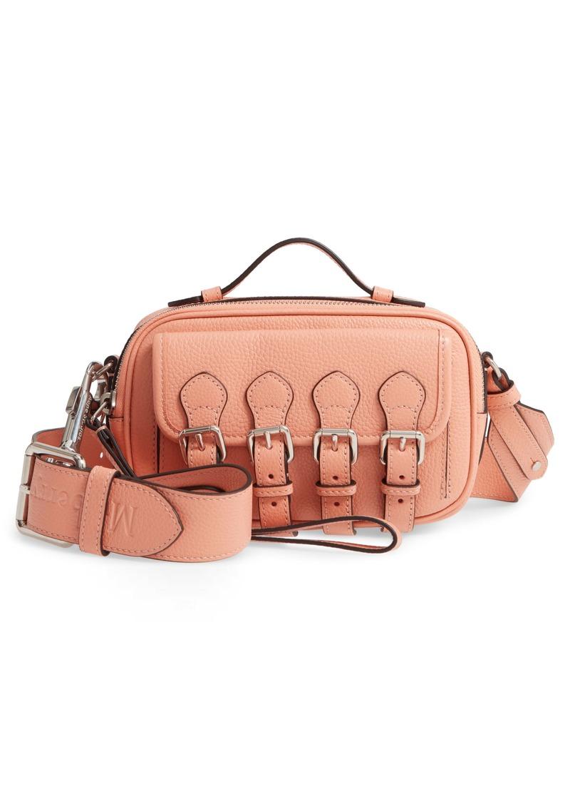 Mulberry & Acne Studios Mini Leather Camera Crossbody Bag