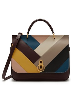 Mulberry Amberley Colorblock Top Handle Bag