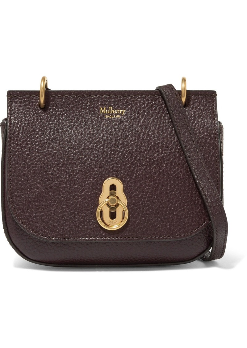 c63ff8ae3729 Mulberry Amberley mini textured-leather shoulder bag