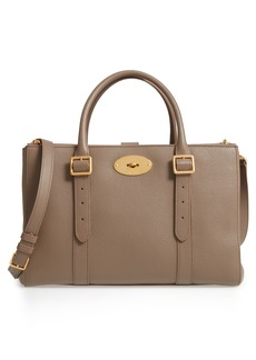 Mulberry Bayswater Double Zip Leather Satchel