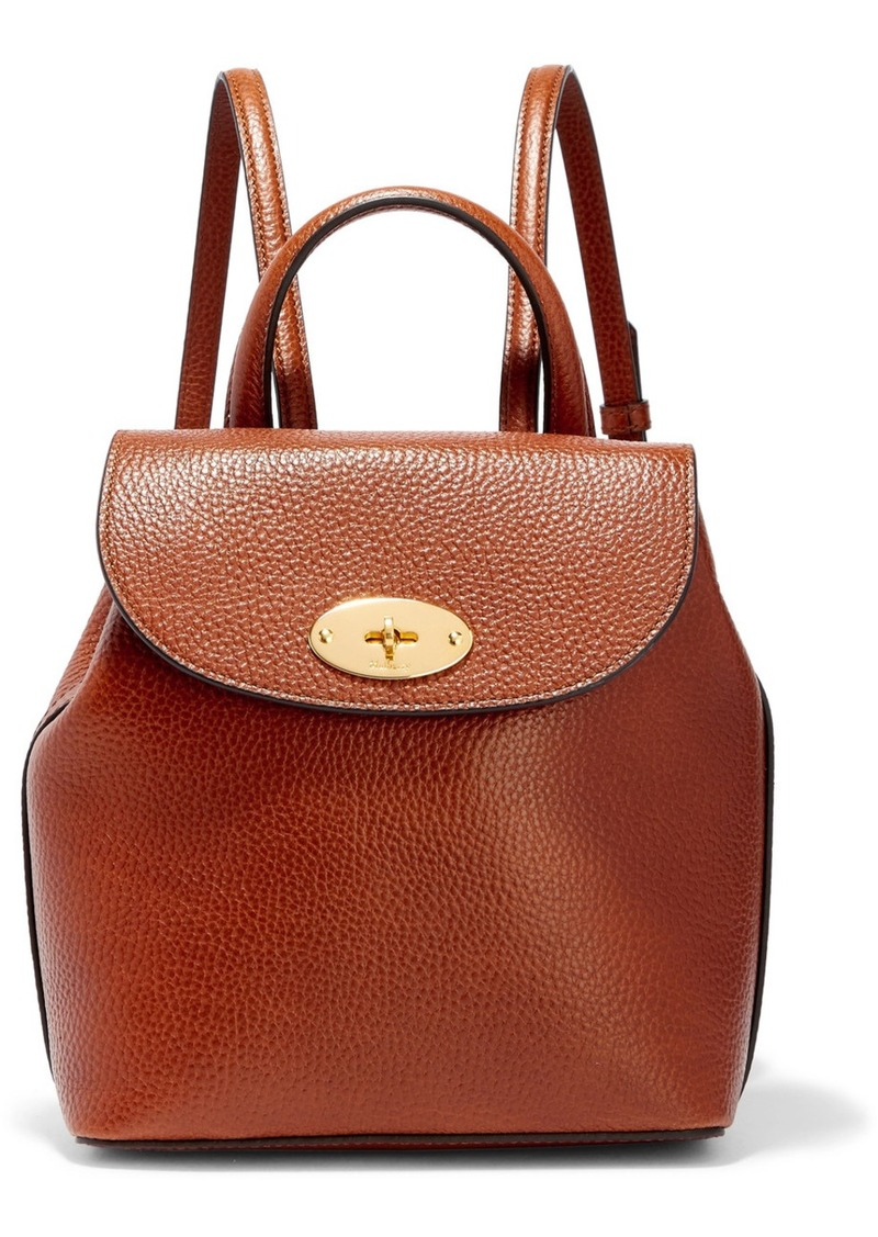 c4ab49a9553d Mulberry Bayswater mini textured-leather backpack