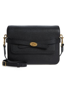 Mulberry Bayswater Pebbled Leather Crossbody Bag - Black