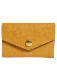 Mulberry Bifold Leather Card Case