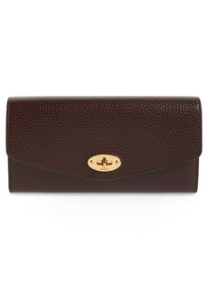 Mulberry Darley Continental Calfskin Leather Wallet