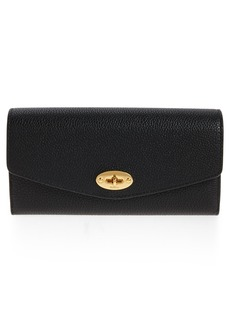 Mulberry Darley Continental Leather Wallet