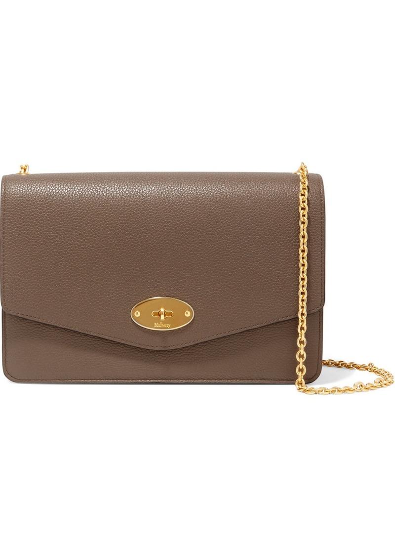 Mulberry Darley textured-leather shoulder bag  5c33aad16ed95
