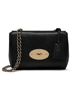 Mulberry Lily Glossy Leather Crossbody Clutch