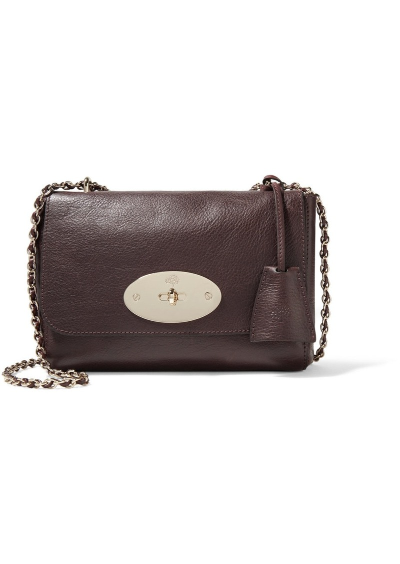 82afd8413728 SALE! Mulberry Lily small textured-leather shoulder bag