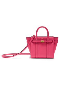 Mulberry Micro Bayswater Leather Satchel