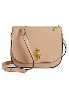 Mulberry Mini Amberley Calfskin Leather Crossbody Bag