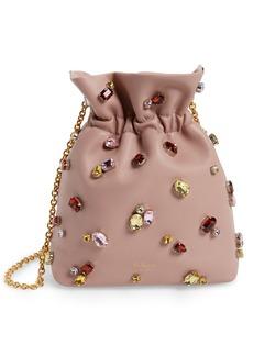 Mulberry Mini Lynton Embellished Leather Bucket Bag