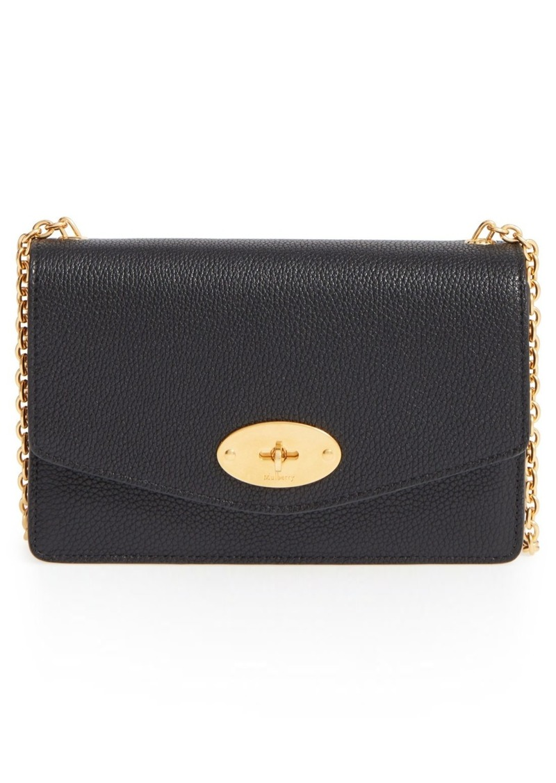 Mulberry Mulberry  Postman s Lock  Leather Crossbody Clutch  23ceed55006fd