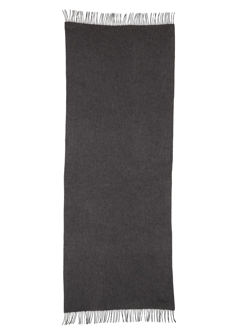 Mulberry Solid Wool Scarf