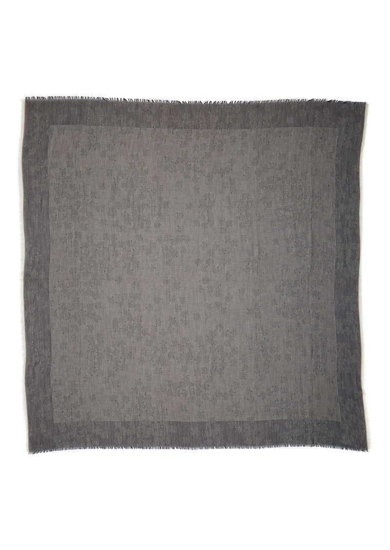 Mulberry Tamara Cotton Square Scarf