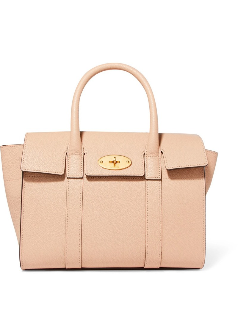 1e9c7572bd615 Mulberry The Bayswater small textured-leather tote | Handbags