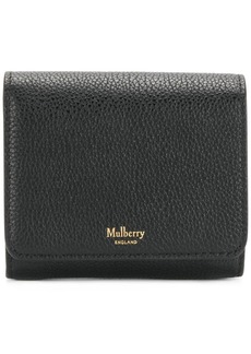 Mulberry pebbled logo purse