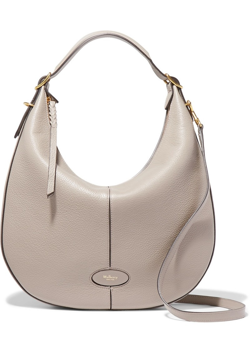eec76651b4 Mulberry Selby textured-leather shoulder bag