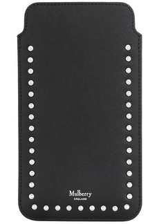 Mulberry studded iPhone Plus cover