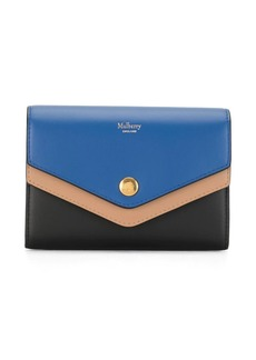Mulberry three-tone wallet